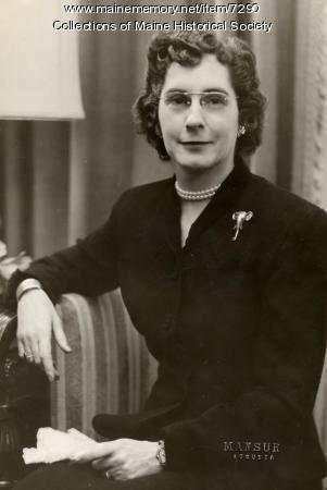 First Lady Olena M. Cross, ca. 1952