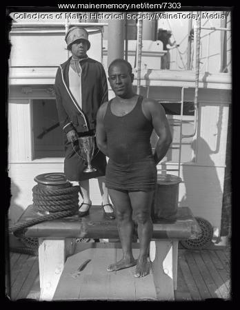 Mitchell and Florence Williams, 1927