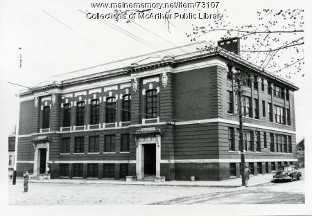 Thomas H. Emery School, Biddeford, 1955