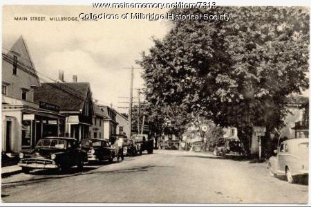 Main Street view, Milbridge