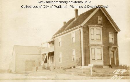 124 Riverside Street, Portland, 1924