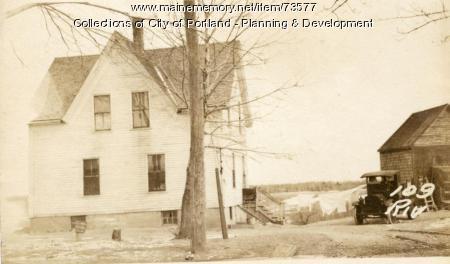 111 Riverside Street, Portland, 1924