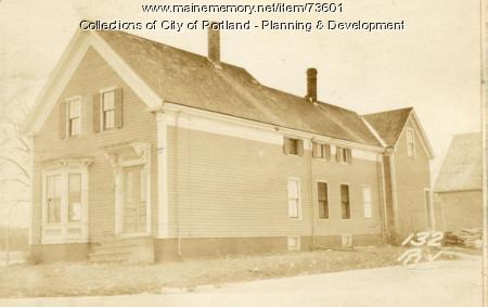 132 Riverside Street, Portland, 1924