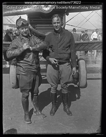 Air Meet, Old Orchard, ca. 1924