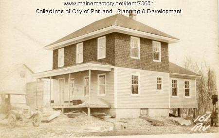 161 Riverside Street, Portland, 1924