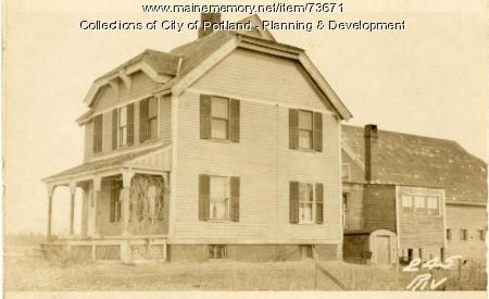 245 Riverside Street, Portland, 1924