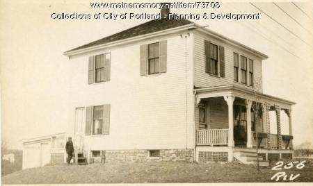 256 Riverside Street, Portland, 1924