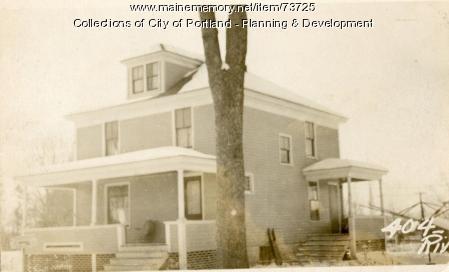 404 Riverside Street, Portland, 1924