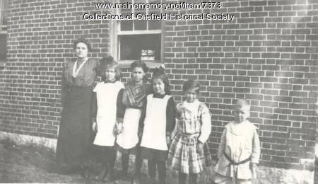 Bell Hill School, Otisfield, ca. 1912
