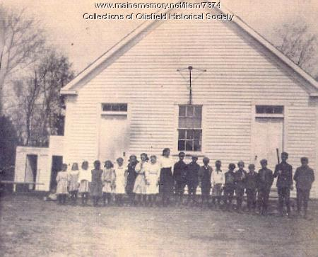 Rayville School, Otisfield, ca. 1915