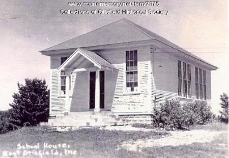 East Otisfield School, ca.1930
