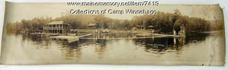 Camp Winnebago from Echo Lake, 1932