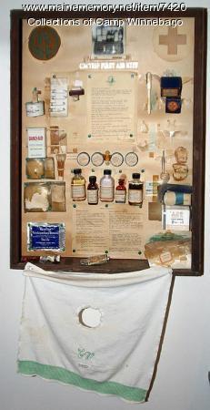 First aid exhibit, Camp Winnebago, ca. 1950