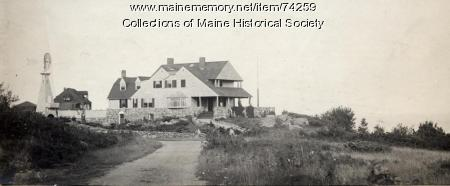 Brown-Donahue House, Cape Elizabeth, ca. 1900