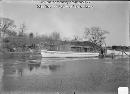 Saco River Launches about 1910 - 1915