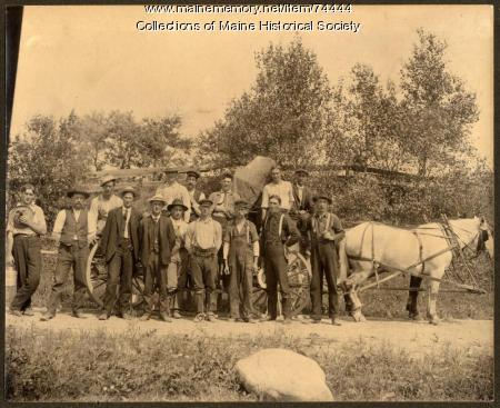 Electric line crew, ca. 1910