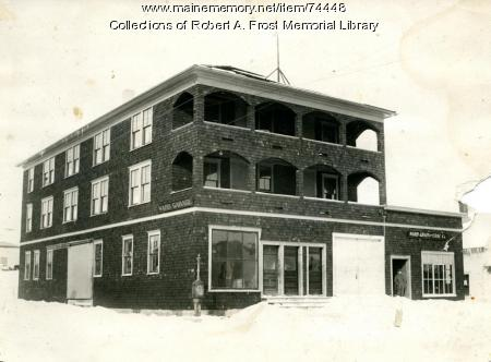 Ward Garage, Limestone, ca. 1915