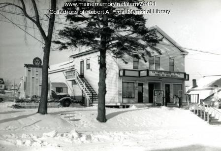 Star Theater, Limestone, ca. 1949