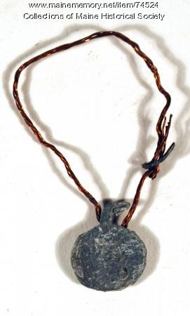 Crimped lead seal, ca. 1910