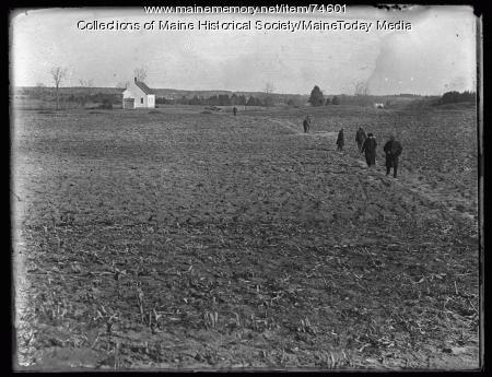 Cote farm search, Gorham, 1924