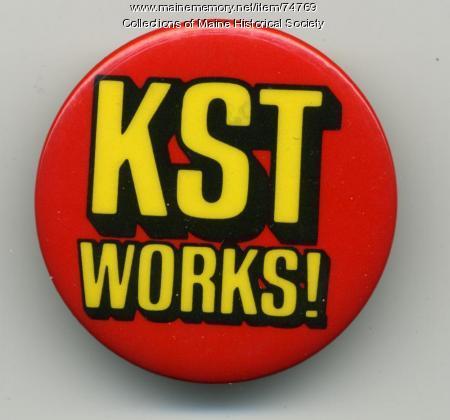 Kilowatt Savings Time button, ca. 1976