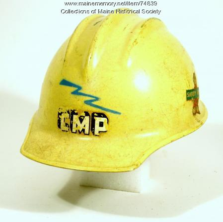 Hard hat, ca. 1953