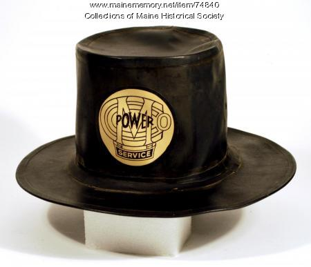Rubber top hat, ca. 1910