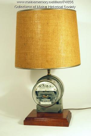 Souvenir lamp with meter, 1985