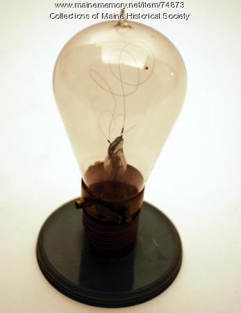 Hy-Lo light bulb, ca. 1904