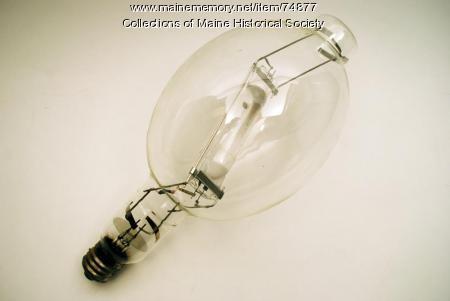 Quartz-arc halogen lamp, ca. 1980