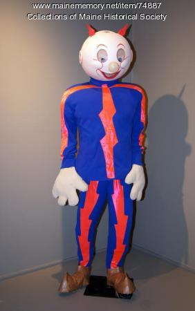 Reddy Kilowatt costume, ca. 1967
