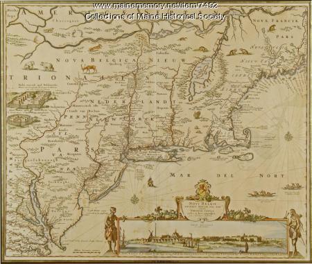 Novi Belgii: Novaeque Angliae Nec Non partis Virginiae, ca. 1655