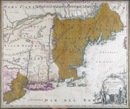 Nova Anglia Septentrionali, ca. 1759