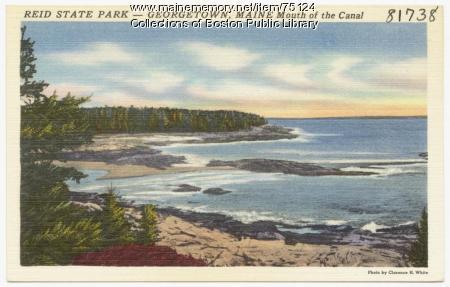 Reid State Park, Georgetown, ca. 1938