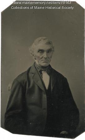 Tintype portrait, ca. 1900