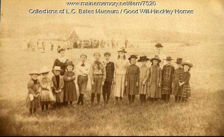 First Good Will Home orphans, Fairfield, 1889