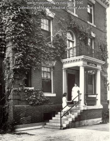 Alida Leese Home, School of Practical Nursing, Portland, 1962