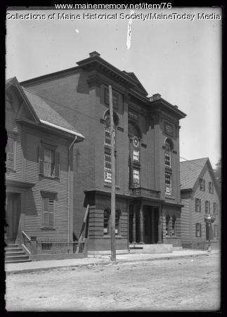 Shaarey Tphiloh synagogue, Portland, ca. 1911