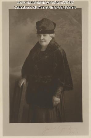 Sarah Waterman, Portland, 1920