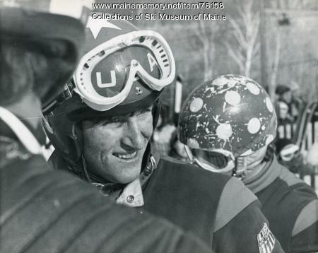Tyler Palmer at the Sugarloaf World Cup, 1971