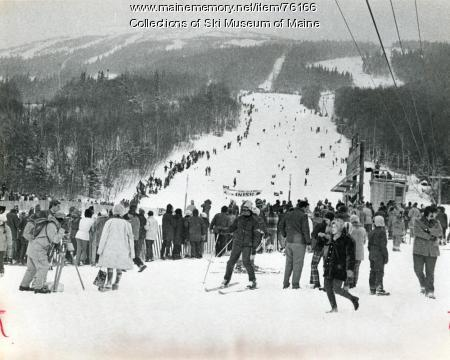 Giant Slalom Course, Sugarloaf, 1971