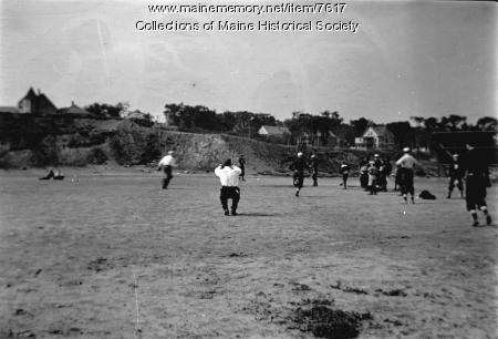 Burrows Club Baseball team, June 1910