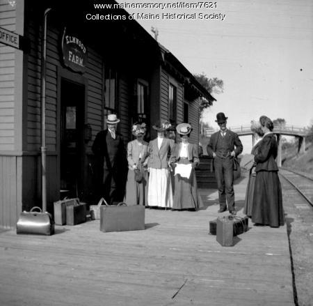 Elmwood Farm depot, Poland, ca. 1910