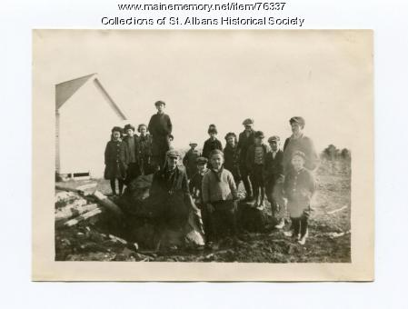 Pond School, St. Albans, 1922