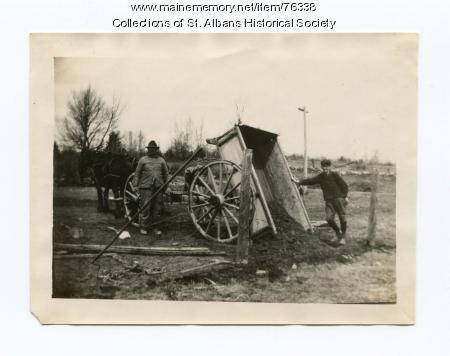 Pond School Improvement Day, St. Albans,  1922