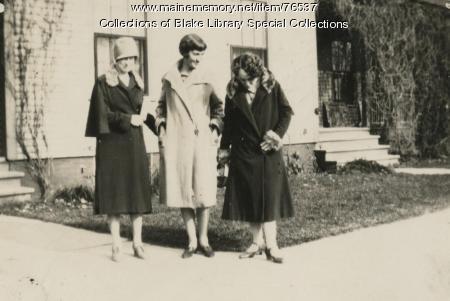 Madawaska Training School faculty, Fort Kent, 1927
