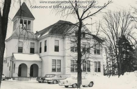 Cyr Hall, Madawaska Training School, Fort Kent, 1955
