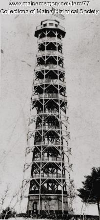 Augusta observatory, ca. 1890