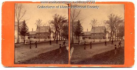 Baseball in Waterville, ca. 1900