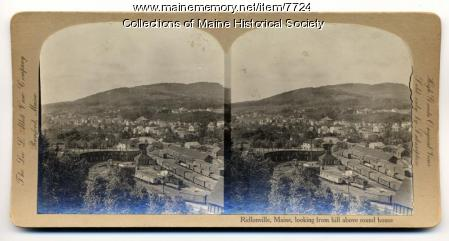 View of Ridlonville, ca 1900